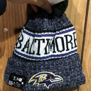 New 2018 NFL Baltimore Ravens Sport Knit Beanie